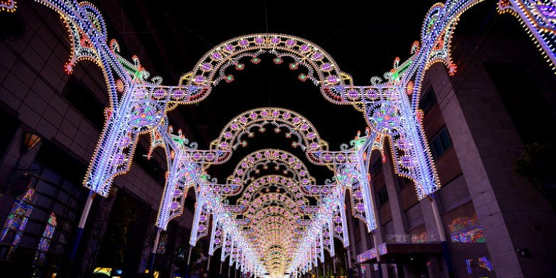 神戶Luminarie(神戸ルミナリエ)2019光之祭典開催,華麗盛大光雕饗宴