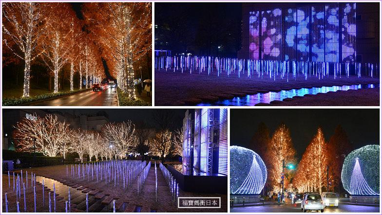2019京都最大級聖誕燈飾 京都rohm illumination點燈活動 80萬顆燈泡點亮冬天夜晚