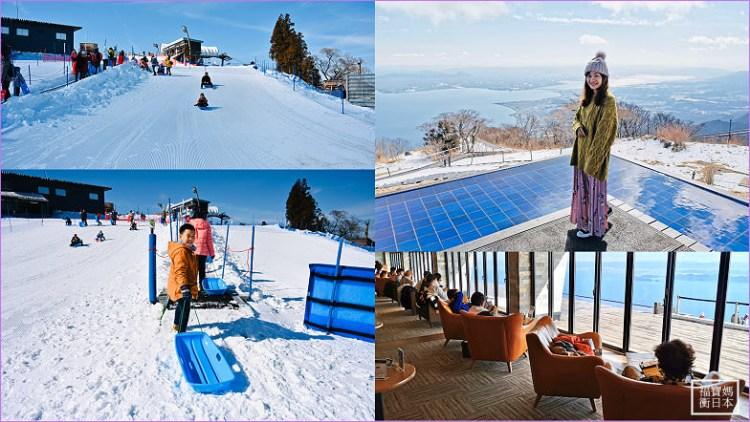 【滋賀景點】琵琶湖觀景台/露台~玩雪、滑雪、夢幻雪之景觀台(含交通資訊)