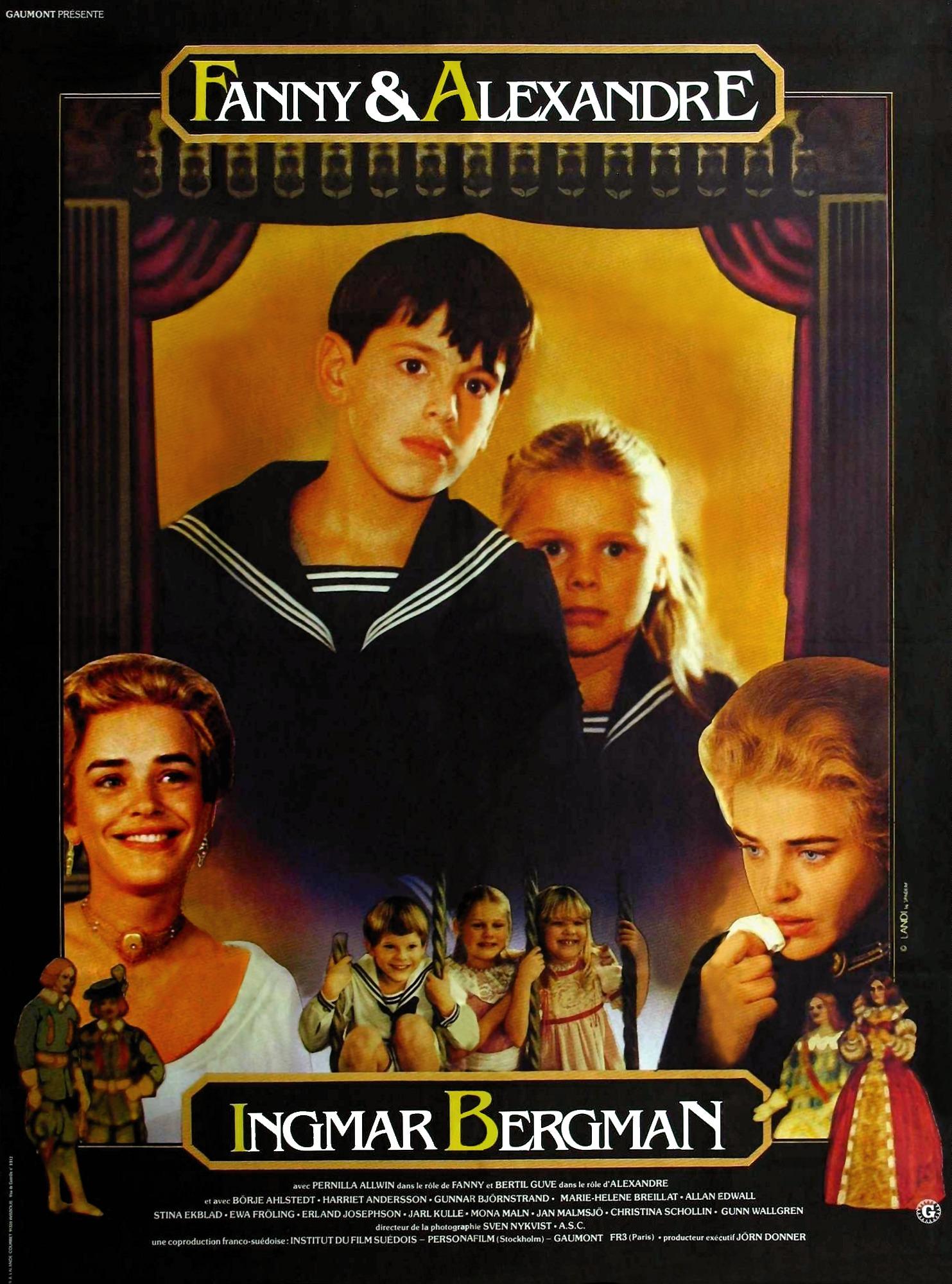 Poster do filme Fanny e Alexander