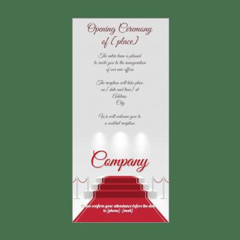 opening ceremony invitation free