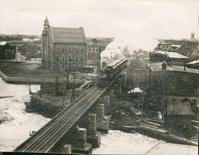 Image result for almonte train