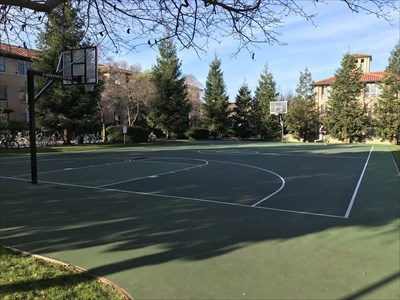 Kimball Hall Basketball Court - Stanford, CA - Outdoor ...