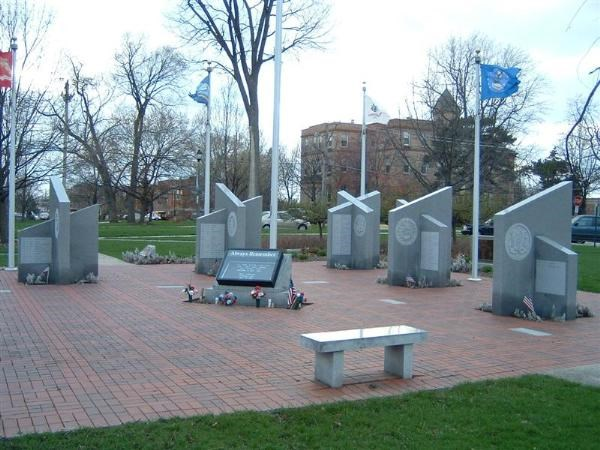 Wilder Park Veterans Memorial