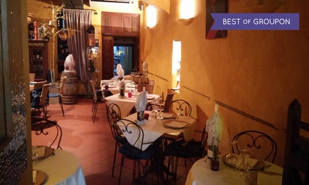 Enoteca le Barrique   Menu 2 forchette Michelin con specialità di mare o di terra con vino in zona San Frediano ( 54%)