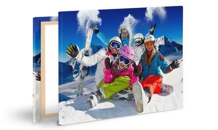 Fino a 3 stampe personalizzate su tele disponibili in vari formati offerte da StampaFoto48ore.it (sconto fino a 96%)