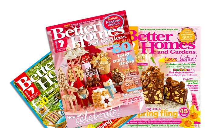 Better Homes & Gardens 1-Year Sub