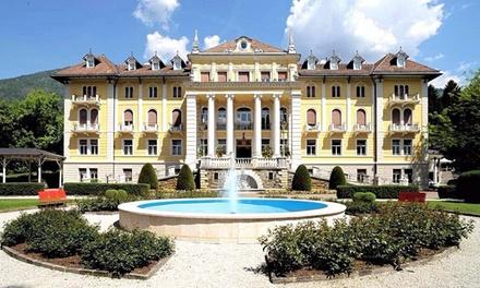 Levico Terme: fino a 5 notti con colazione o mezza pensione, welcome drink e Spa per 2 al Grand Hotel Imperial 4*