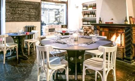 Percorso Degustazione di coppia di pesce,carne o vegetariano da 8 portate al Caffè dellOrologio San Salvario