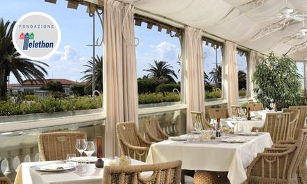 Principe di Piemonte   Regina: ristorante panoramico con vista sul lungomare di Viareggio da 44,90 €