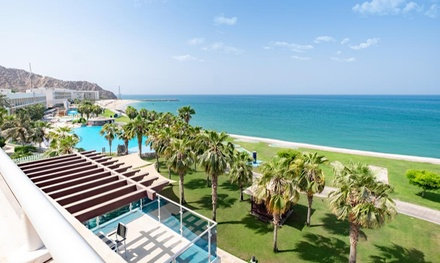Fujairah: One Night Stay for 2 or 4 with Option for Breakfast, Half or Full Board at 5* Radisson Blu Resort Fujairah