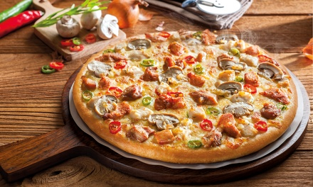 Two Small, Medium or Large Pizzas and one Soft Drinks at The Pizza Company (Up to 52% Off)