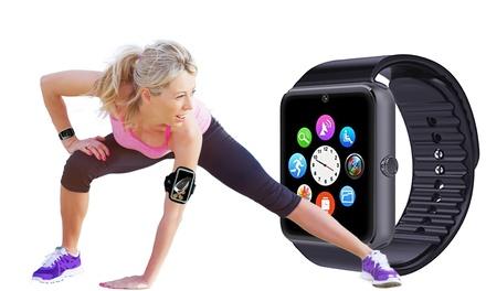 Fitness tracker multifunzione con fascia portacellulare da braccio in omaggio