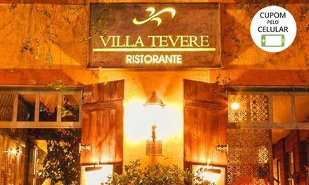 Lasanha (5 opções para escolher) no Restaurante Villa Tevere – Asa Sul