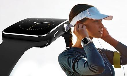 Activity tracker touchscreen Visiontouch 2018 con auricolari bluetooth waterproof da allenamento