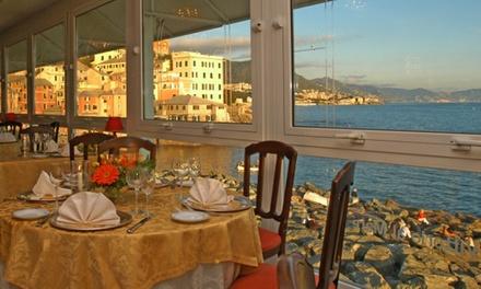 Menu gourmet di pesce con crudi di mare e bottiglia di Champagne al ristorante Vittorio al Mare (sconto fino a 65%)