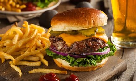 Menu con hamburger, bruschette, patatine fritte e bevanda per 2, 4 o 6 persone al K2 Pub&Drink (sconto fino a 58%)