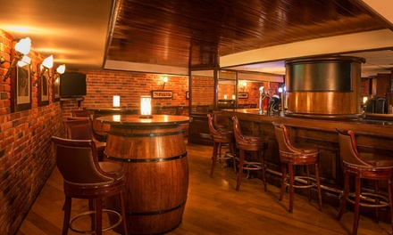Up to AED 1,000 Toward Food and Drinks at Tavern English Pub at 5* Sheraton Abu Dhabi Hotel & Resort (Up to 51% Off)