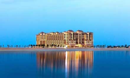 Ras Al Khaimah: 1 Night for Up to 2 Adults and 2 Children with Half or Full Board at 5* Marjan Island Resort & Spa