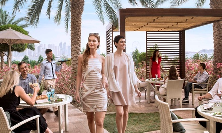 Buy Now Use Later! Meal with Beach and Pool Access for Up to Four at Seagrill Bistro at Fairmont The Palm