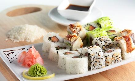 Menu In formula All you can eat con sushi , bevande e dolci illimitati per 2 o 4 persone al ristorante Koko