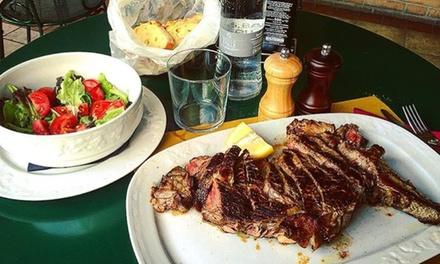Menu di carne con calice di vino per 2 o 4 persone al Bistrot Melograno (sconto fino a 64%)