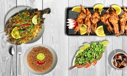 Up to AED 200 to Spend on Food and Drinks (Delivery and Takeaway only) at Shawaia El Bahar Restaurant (Up to 50% Off)