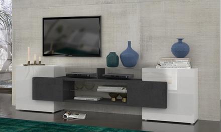 المصبوب المتلقي بطة meuble tv italien