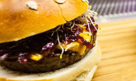 Menu hamburger gourmet con antipasto e gin and tonic per 2 persone da Conta (sconto 50%)
