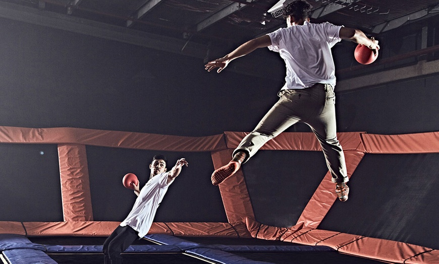 90 minute jump pass or birthday party for up to 10 at sky zone belden village up to 30 off