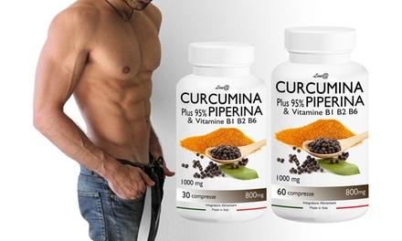 Fino a 720 compresse di Curcumina e Piperina Lineadiet per aiutare a perdere peso