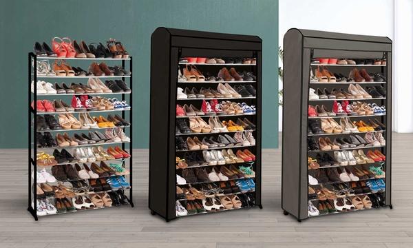 etagere a chaussures pour 30 ou 50 paires housse en option des 14 90 jusqu a 60 de reduction