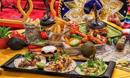 Up to AED 300 Toward Food and Drink at Cantina 1810 Mexican Restaurant at 4* Grand Excelsior Hotel (Up to 51% Off)
