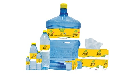 Coupon Booklet for Water Delivery: 11 or 23 Five Gallon Bottles from Al Wasl Water