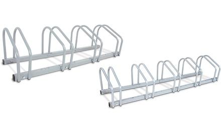 Rastrelliera per bicicletta in ferro per 4 o 5 biciclette
