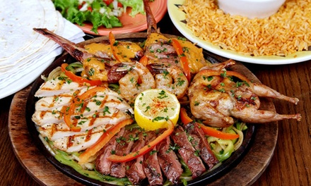 AED 100 to Spend on Food and Drinks at Cantina Laredo (40% Off)