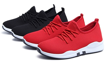 Womens Breathable Mesh Trainers
