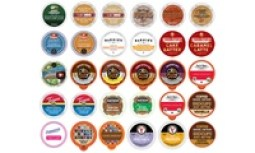 Single-Serve Flavored Coffee Pods (30-Count)