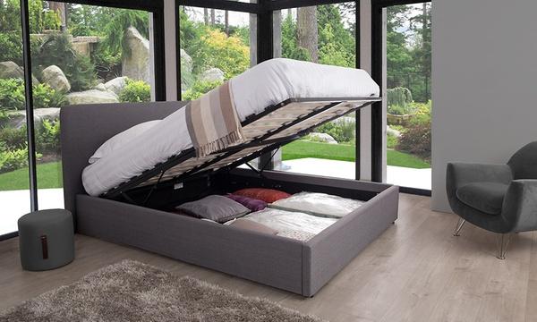lit coffre henkel en tissu dimensions et coloris au choix des 159 90 jusqu a 63 de reduction