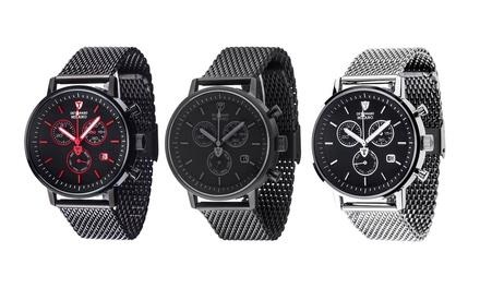Orologio uomo Detomaso disponibile in 4 colori
