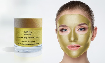 Una o 2 maschere Gold da 50 o 100 ml