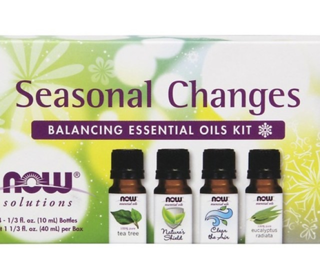 Now Solutions Seasonal Changes Balancing Essential Oils Kit  Piece