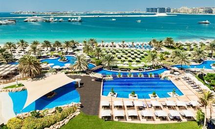 Pool and Beach Access at Club Mina in 5* Le Méridien Mina Seyahi Beach Resort & Marina (Up to 46% Off)
