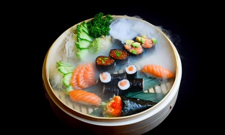 Four Course Omakaze, Maki or Salmon Set Sushi Experience at Yūgō Sushi (Up to 52% Off)