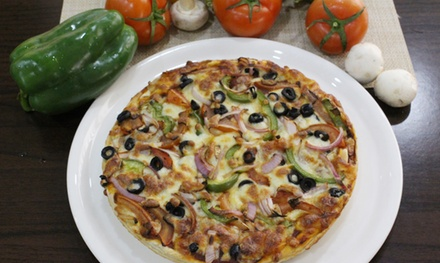 Large Pizza and Salad to Share and Drink for Two, Four or Six at Pizzeria Italiana (Up to 76% Off)