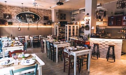 Menu di carne con tagliata di Angus, formaggi DOP e vino al ristorante La Cucineria, zona lungofiume (sconto fino a 61%)