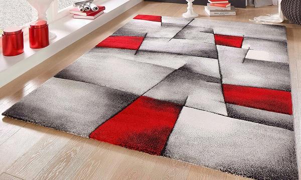 tapis moderne cali aux touches colorees