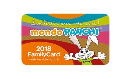 MondoParchi: la Card che dà diritto a sconti nei più grandi parchi divertimento dItalia (sconto fino a 25%)