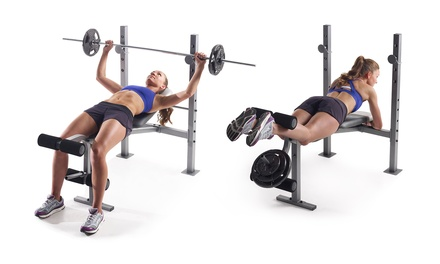 Up To 29 Off On Gold S Gym Xr 6 1 Weight Bench Groupon