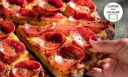 1, 2, 3 ou 4 pizzas na Dominos – Santana